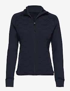 Karma - mellemlag i fleece - dark blue