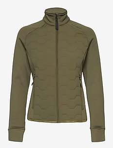 Karma - mellanlager i fleece - khaki