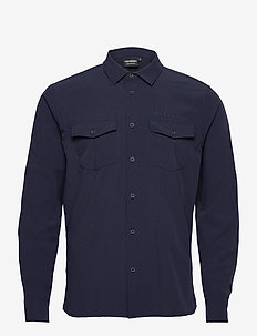 Jimi - basic shirts - dark blue