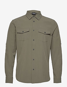 Jimi - basic shirts - khaki