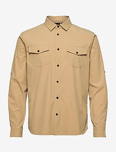 Jimi - basic shirts - light brown