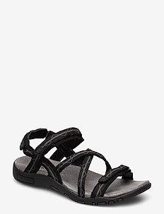 ALVA - hiking/walking shoes - black