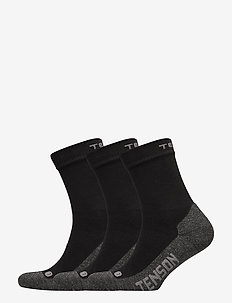 CORE HIKING 3-PACK - regular socks - black