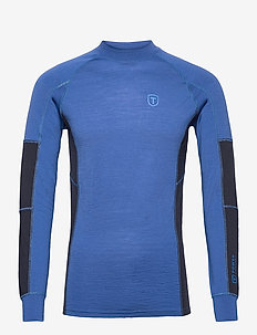 Woollis - base layer overdeler - blue