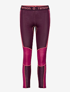 Wanessa - base layer bottoms - wine