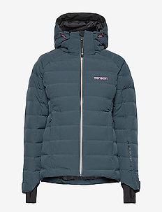 Icebelle - ski jackets - dark grey