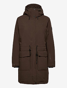 Doris - parka's - dark brown