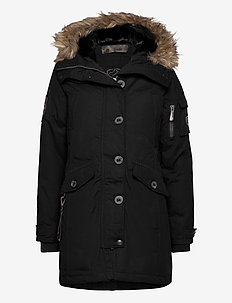 Lhasa Lady - parkaser - black