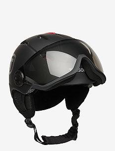 TERRA VISOR - vintersportstilbehør - black