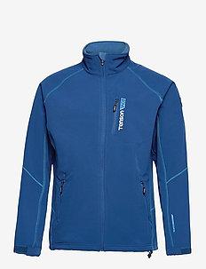 Race Softshell M - wandel- en regenjassen - blue