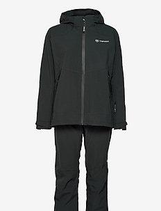 HURRICANE XP SET W - manteaux de pluie - black