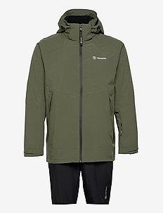 HURRICANE XP SET M - manteaux de pluie - khaki