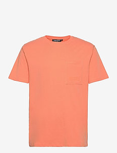 Seaside Tee M - sportoberteile - dark orange