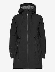 Carrick Shell Jkt - frilufts- og regnjakker - black