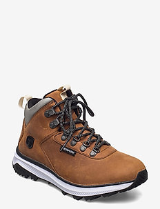 W Urban Hiker Mid - vandrings- & promenadskor - brown