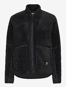 Nechako Pile Jkt W - outdoor & rain jackets - black
