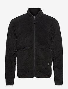 Nechako Pile Jkt M - basic-sweatshirts - black