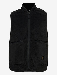 Nechako Pile Vest M - outdoor- & regenjacken - black