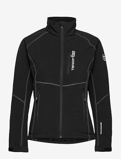 Race Softshell W - træningsjakker - black