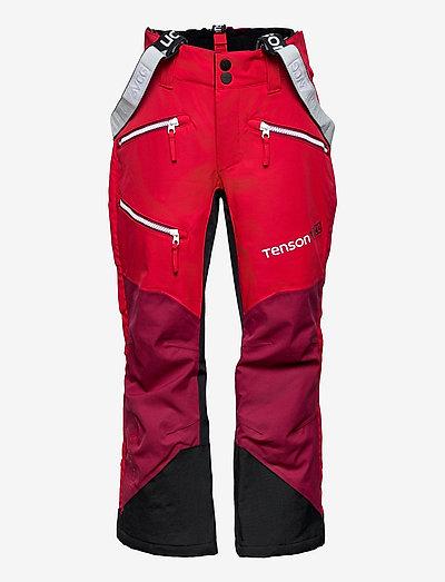 Pow Race - skibroeken - red