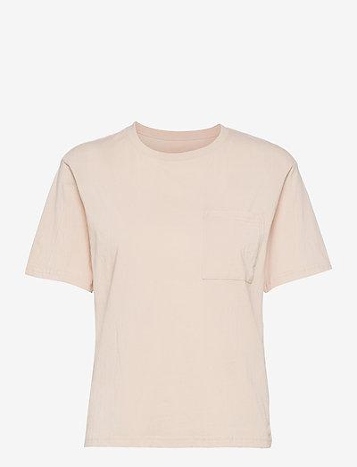 Seaside Tee W - t-shirts - light pink