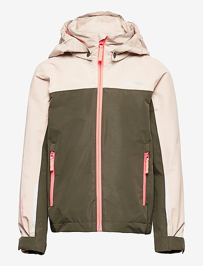 Wave Jacket jr - shell- & regenjassen - khaki