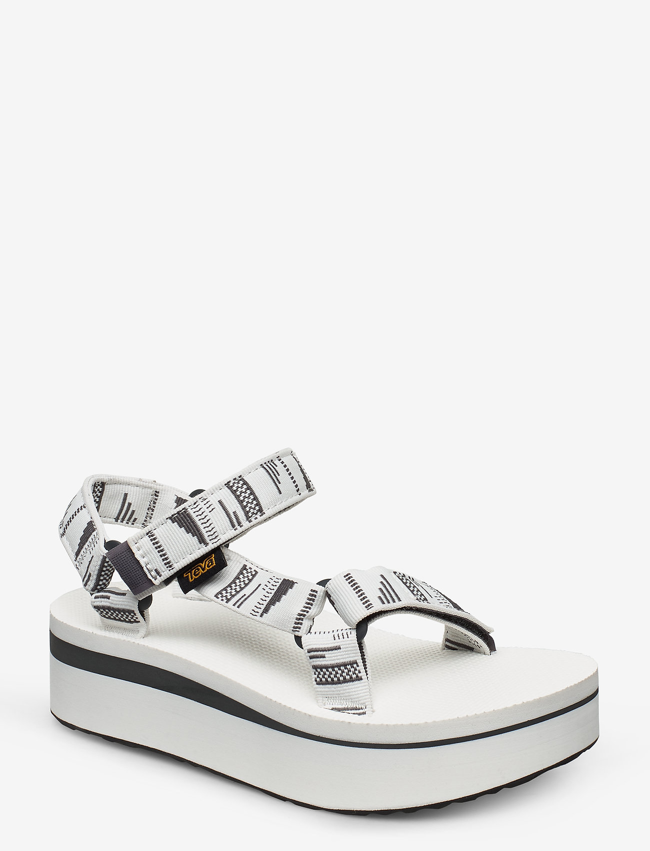 Teva - W Flatform Universal - matalat sandaalit - charabrightwhite