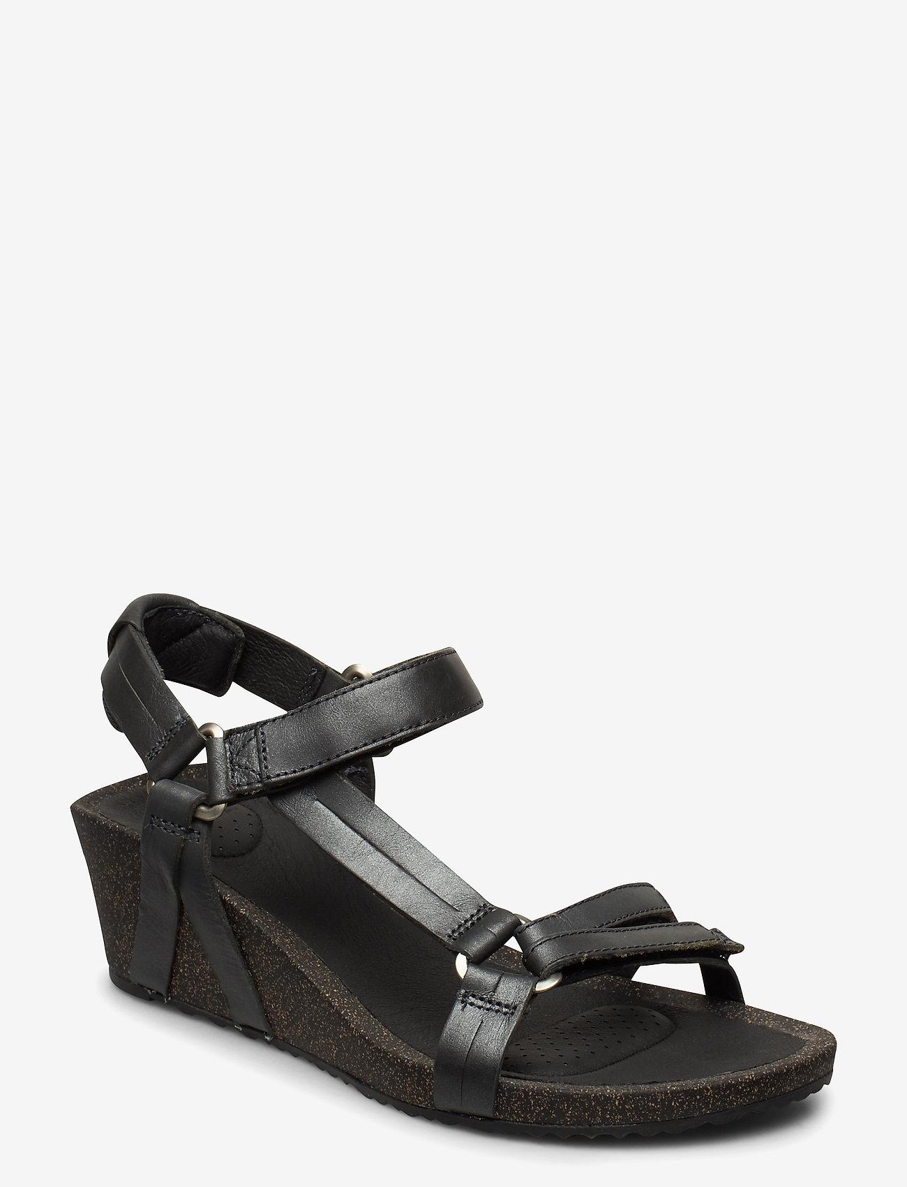 Teva - W Ysidro Universal Wedge - Metal - høyhælte sandaler - gunmetal - 0