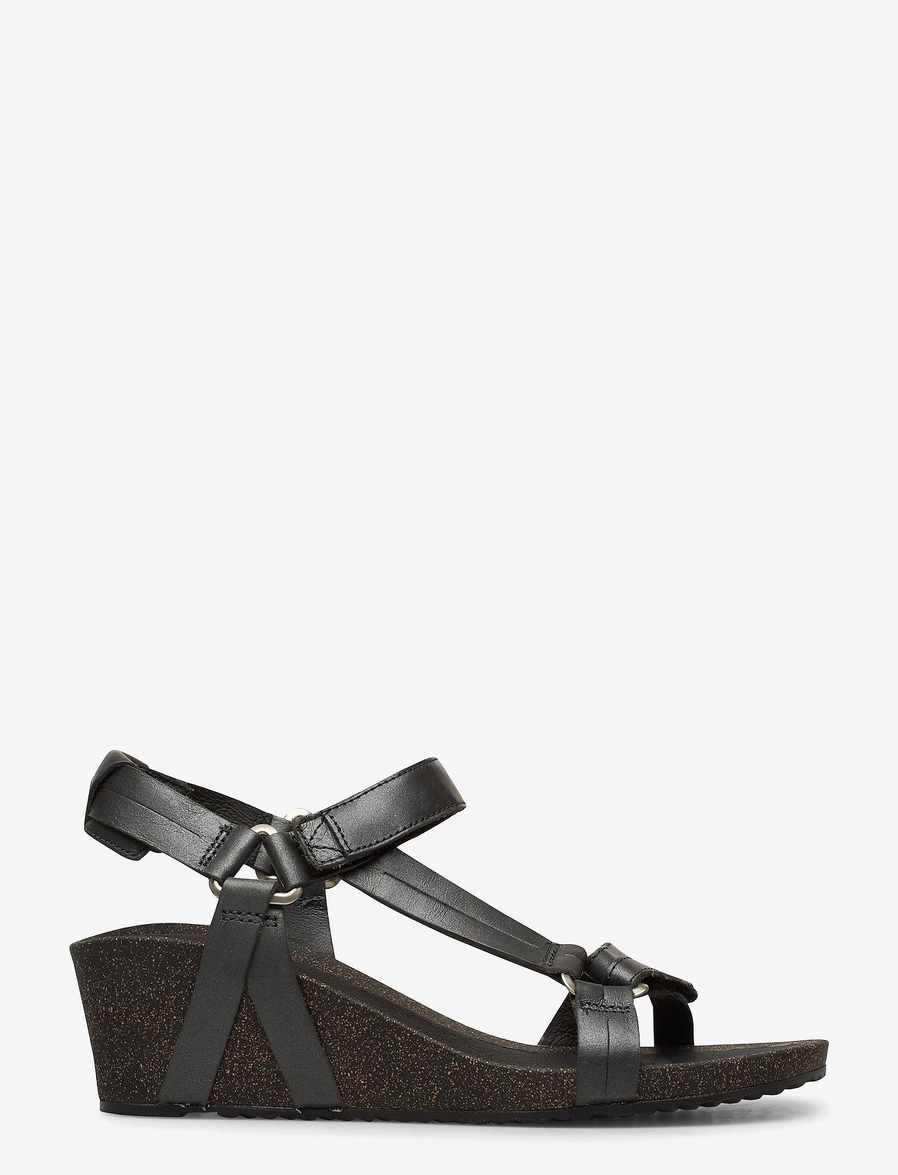 Teva - W Ysidro Universal Wedge - Metal - høyhælte sandaler - gunmetal - 1