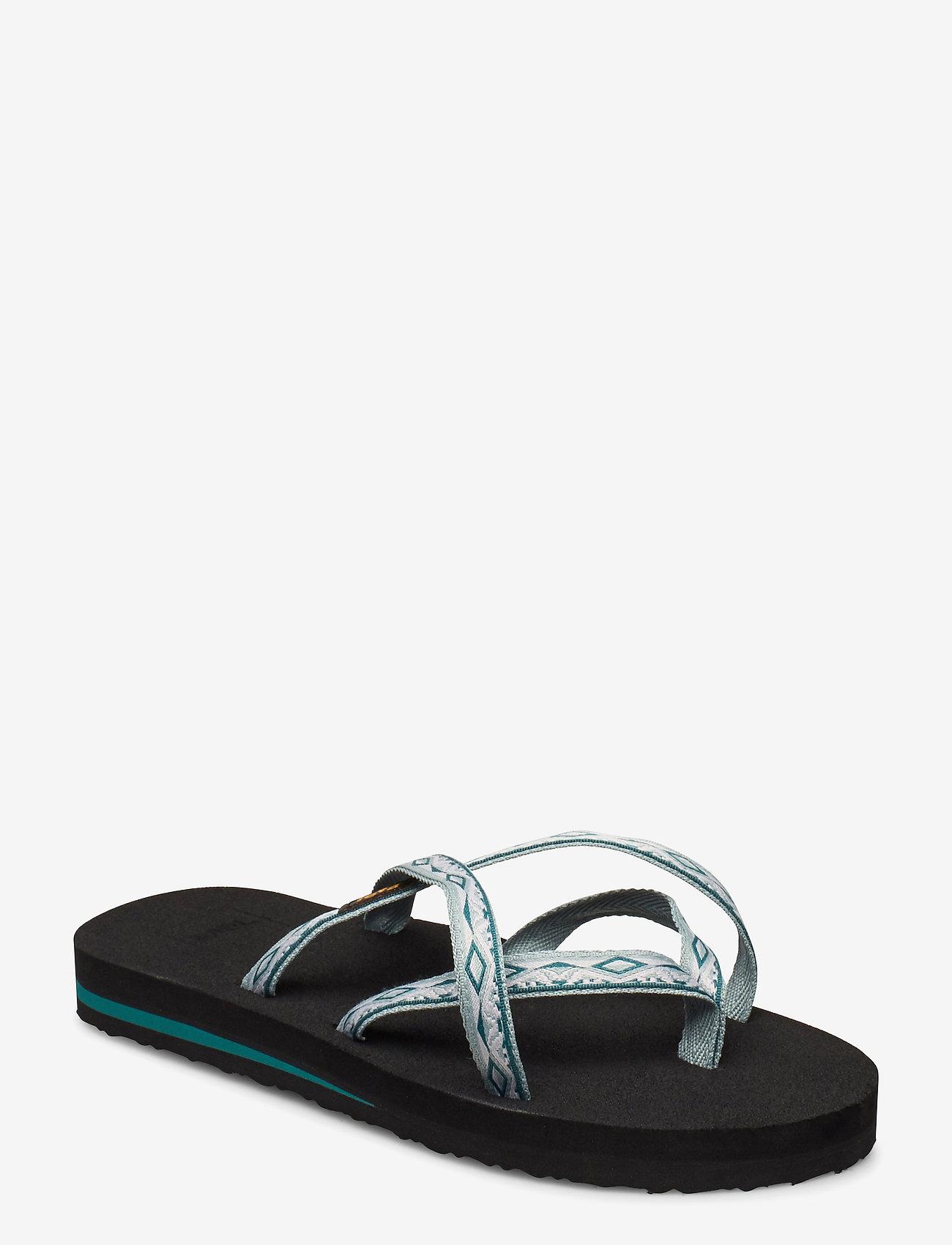 Teva - W Olowahu - flate sandaler - sari ribbon gray mist - 0