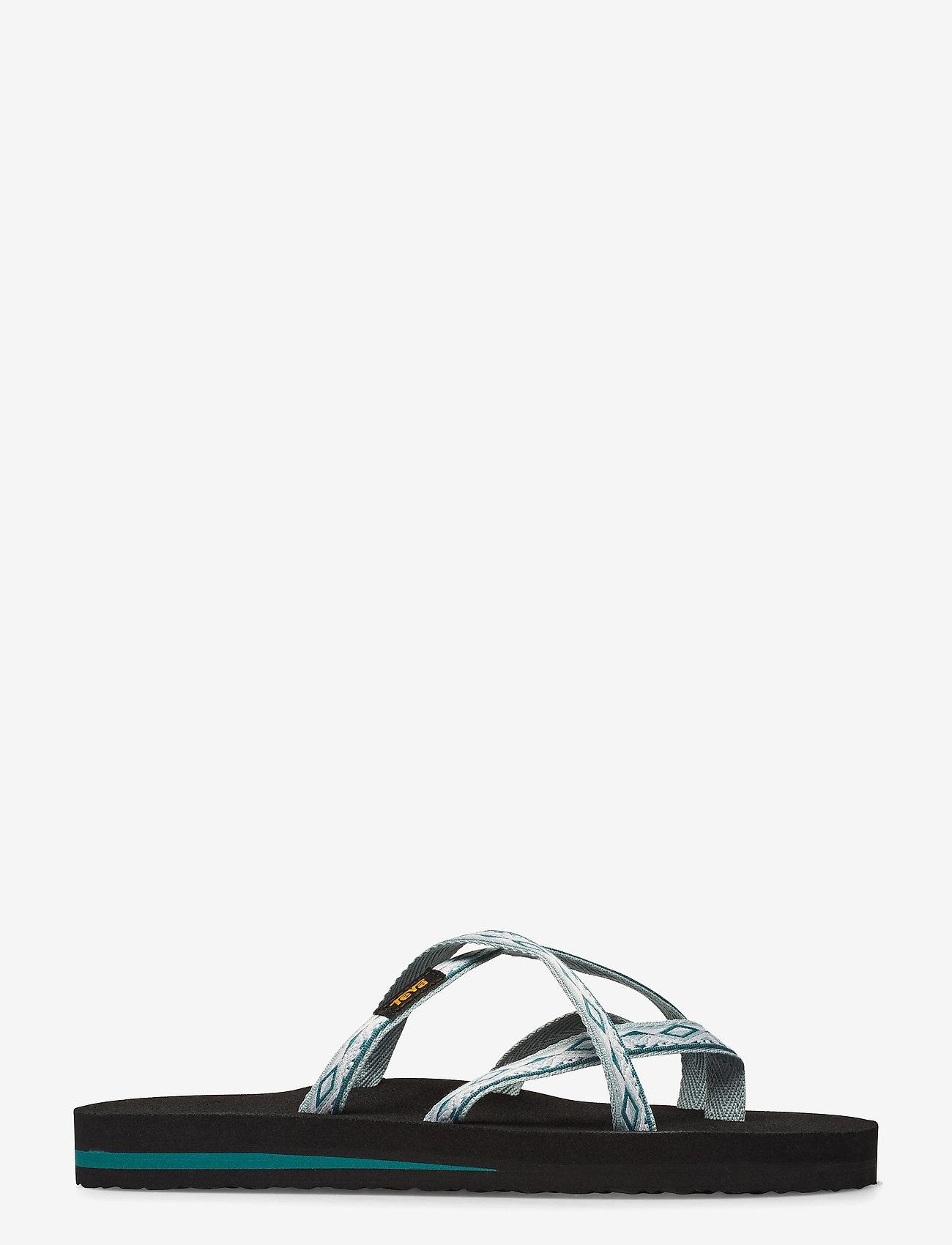 Teva - W Olowahu - flate sandaler - sari ribbon gray mist - 1