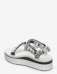 Teva - W Flatform Universal - matalat sandaalit - charabrightwhite - 2
