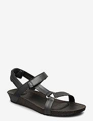 Teva - W Ysidro Universal - Metallic - flate sandaler - gunmetal - 0