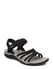 W Elzada Sandal - BLACK