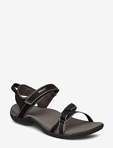 W Verra - flate sandaler - black