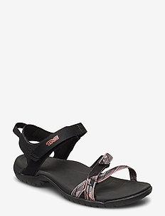 W Verra - flate sandaler - suri black multi