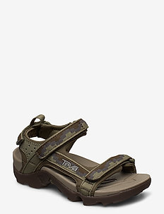 K Tanza - sandaler - steps dark olive
