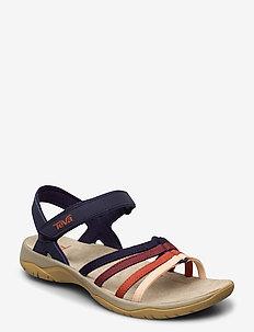 W Elzada Sandal - flate sandaler - eclipse multi