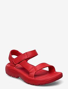 W Hurricane Drift - flate sandaler - firey red