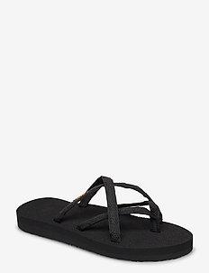 W Olowahu - flade sandaler - mix b onblack