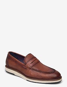 Casual loafer - loaferit - cognac