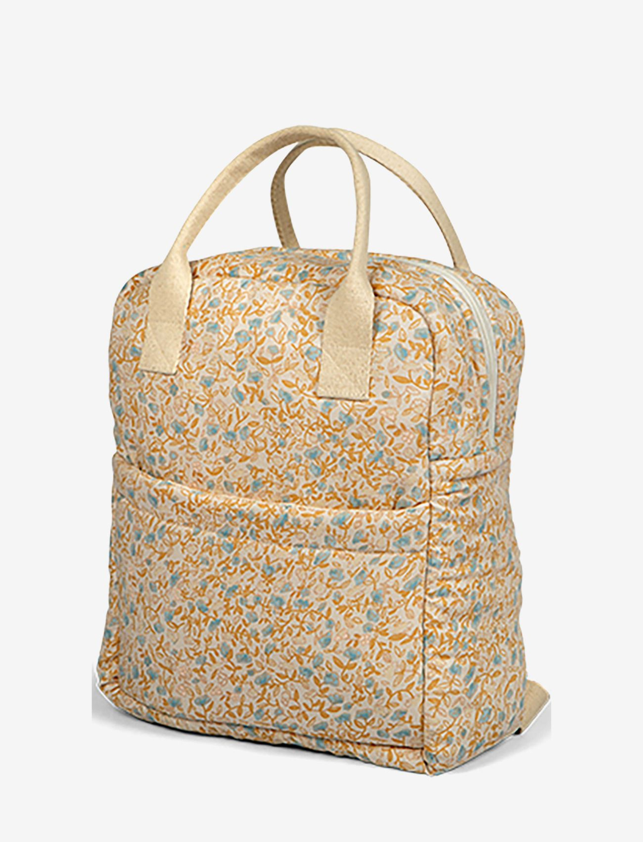Backpack mini flower blue