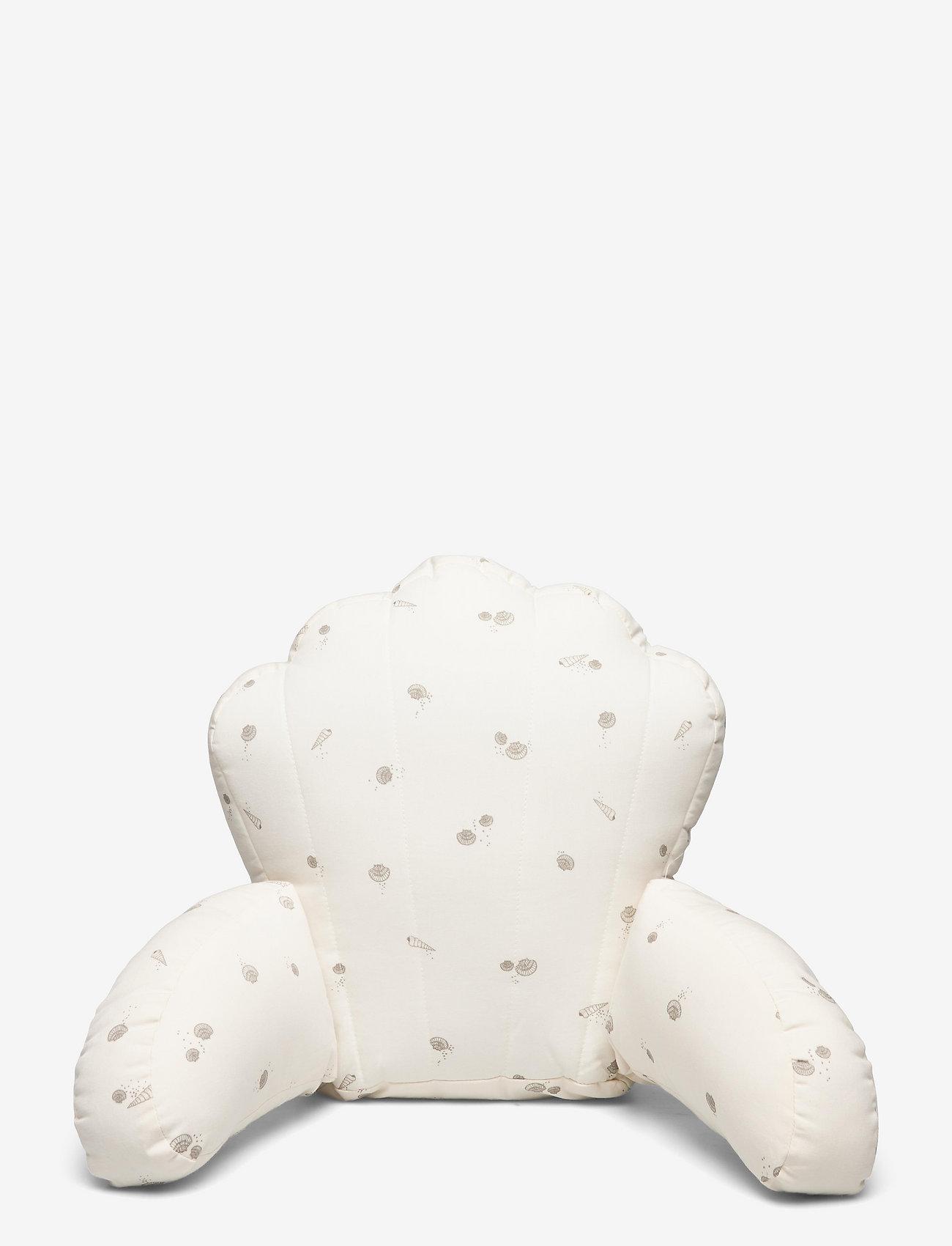 Pram pillow sea shell