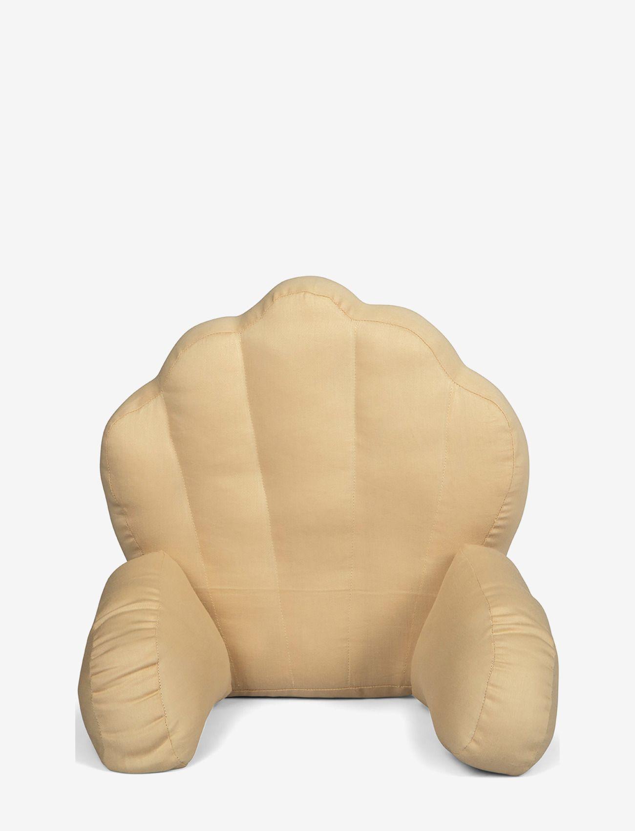 Pram pillow soft beige