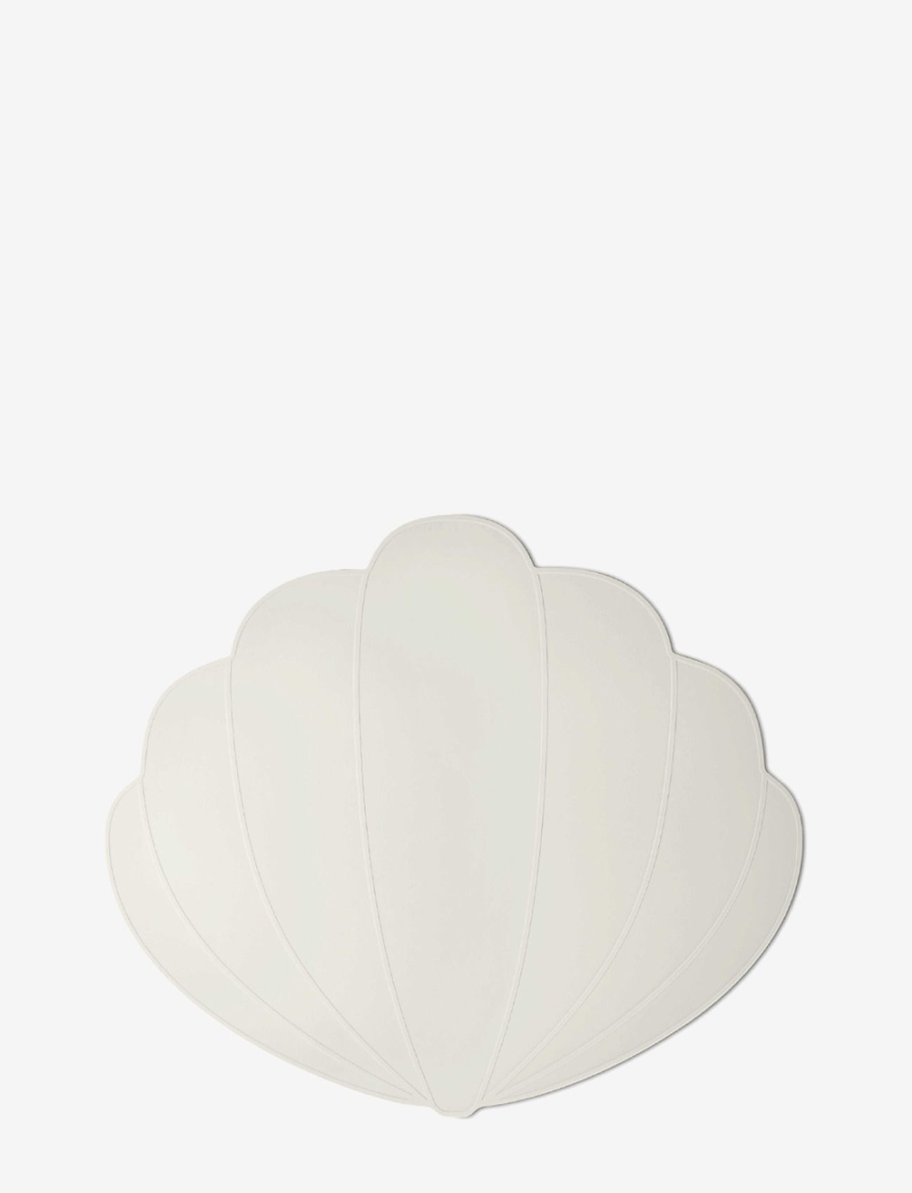 Placemat shell Feather grey