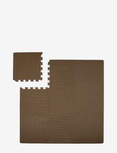 Foam play mat brown - play mats - brown