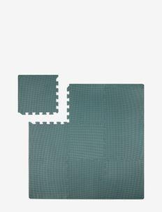 Foam play mat blue - lekematter - blue
