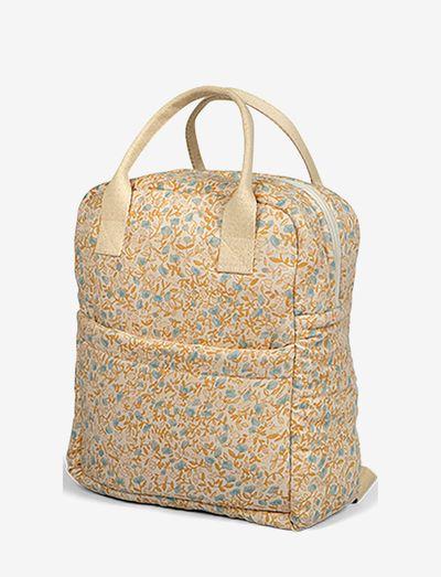 Backpack mini flower blue - backpacks - mini flower blue