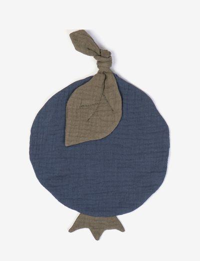 Cuddle cloth blueberry - fopspeen deken - blue