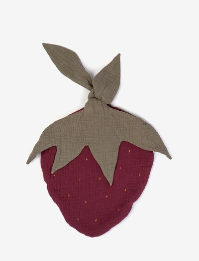 Fruit bag strawberry - fopspeen deken - plum
